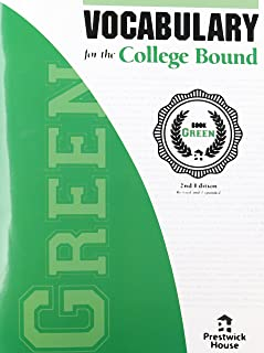 Vocabulary for the College Bound - Book Green