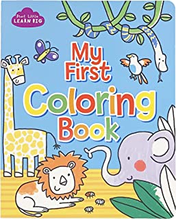 My First Coloring Book