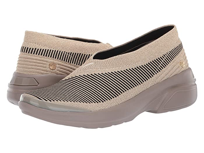 Bzees  Outburst (Gold) Womens Flat Shoes