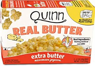 Best quinn real butter popcorn Reviews