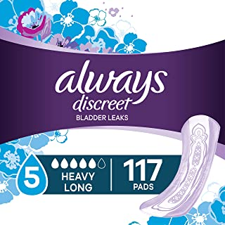Always Discreet Pads For Bladder Leaks