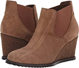 Taupe Oiled Italian Suede