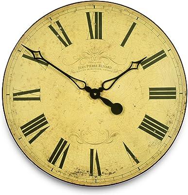 Roger Lascelles Clocks GAL/Geneva Wall Clock Large Cream