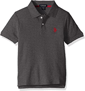 U.S. POLO ASSN. Boys' Little Short Sleeve Performance Polo Shirt