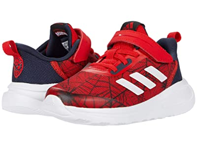 adidas Kids FortaRun EL Marvel Spider-Man (Toddler) (Footwear White/Vivid Red/Core Black) Boys Shoes