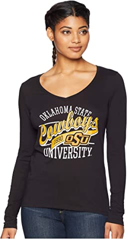 Oklahoma State Cowboys Long Sleeve V-Neck Tee
