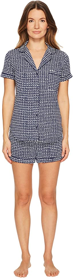 Kate Spade New York - Mini Hearts Classic Short Pajama Set