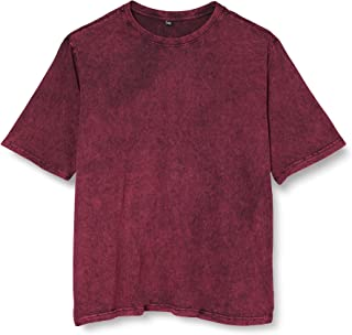 Build Your Brand Men's Acid Washed Tee T-Shirt