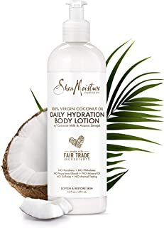 SheaMoisture 100% Virgin Coconut Oil Daily Hydration Body Lotion, 16 Ounces