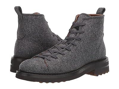 John Varvatos Collection Essex Trooper Boot (Light Grey Heather) Men