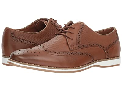 Kenneth Cole Reaction Weiser Lace-Up (Cognac Leather) Men