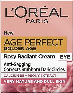 L'Oreal Paris gyllene ålder rosig ögonkräm för mörka cirklar 15 ml