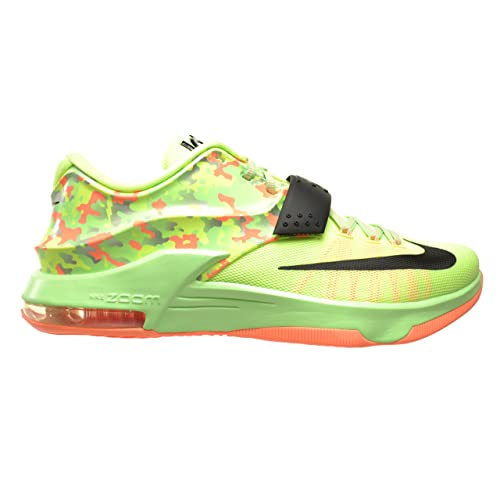 wholesale dealer 760cb 6ea94 Nike KD VII Easter Men s Shoes Liquid Lime Black-Vapor Green-Sunset Glow