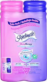 Skintimate Skin Therapy Moisturizing Women's Shave Gel Value Pack, 2x198g