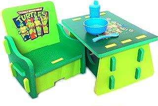 Nickelodeon Teenage Mutant Ninja Turtles Table and Chair Set with Storage