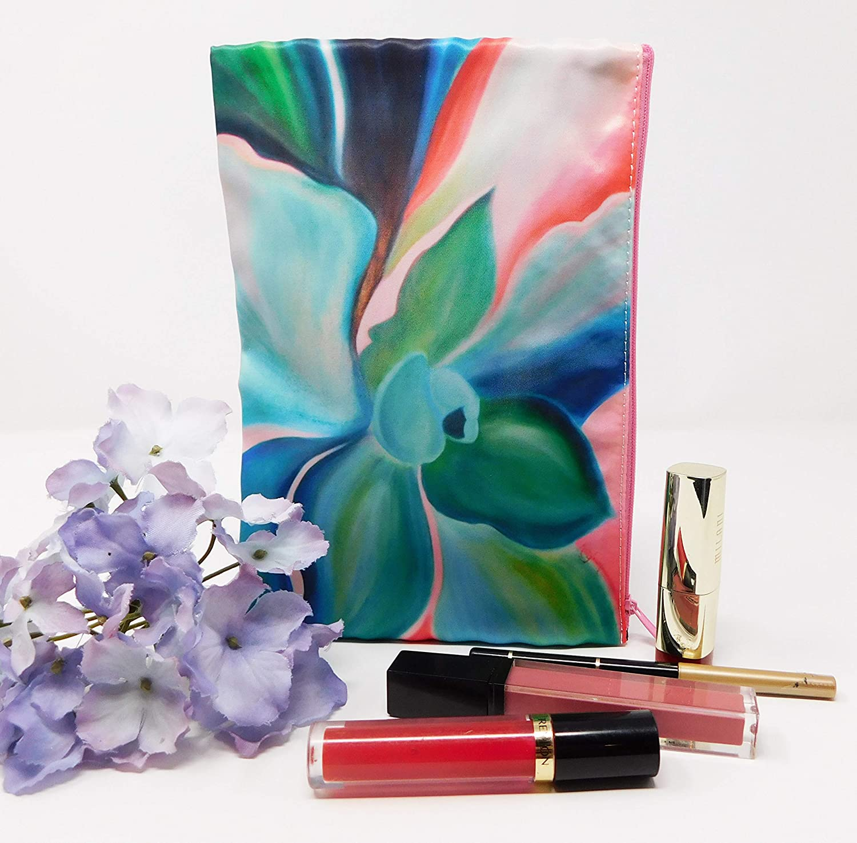 Cosmetic Makeup Bag Zipper Succulent Large Organ Indefinitely Purse Indefinitely Multi Use