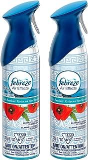 Febreze Air Effects - Greek Seaside - Net Wt. 9.7 OZ (275 g) Each - Pack of 2