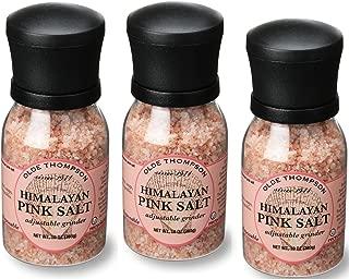Olde Thompson Himalayan Pink Salt 10oz Grinder (Pack of 3)