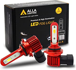 Alla Lighting 5200lm AL-R HB4 9006 LED Yellow Fog Lights Bulbs Xtreme Super Bright 12V 3000K Amber 9006 LED Bulbs Replacement for Cars, Trucks