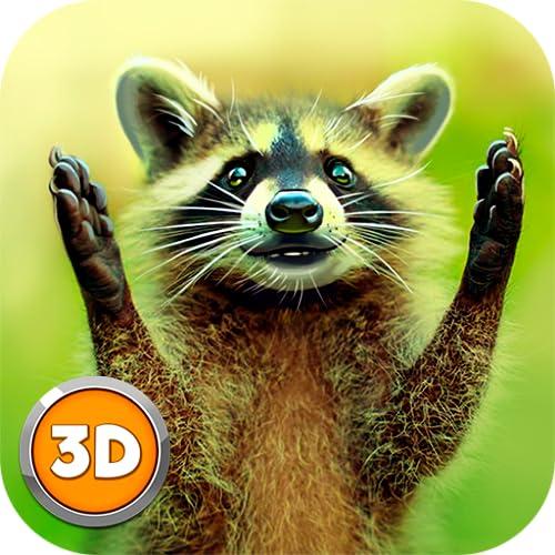 Bandit Raccoon Simulator 3D