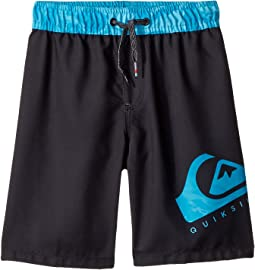Lava Logo Volley Shorts (Toddler/Little Kids)