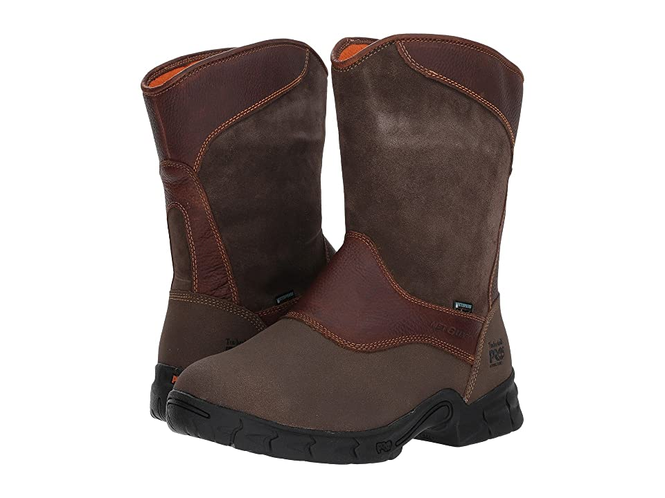 Timberland PRO Excave Pull-On Steel Toe Waterproof Internal MetGuard (Brown) Men