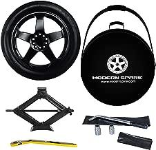 2017-2019 Tesla Model 3 Complete Spare Tire Kit w/Carrying Case - Modern Spare (4000 LB TruLift Scissor Jack)