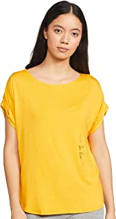 Enamor Essentials E087 Relaxed Fit Tee for Women