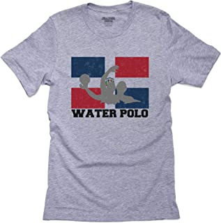 Dominican Republic Olympic - Water Polo - Flag Men's T-Shirt