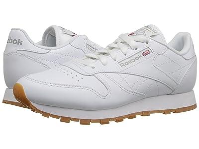 Reebok Lifestyle Classic Leather (White/Gum) Women