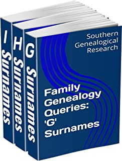 Family Genealogy Queries 3-Book Bundle: 'G' 'H' 'I' Surnames (Southern Genealogical Research)