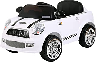 Ricco S6088 Kids Ride on Car Electric Car Remote Control - White
