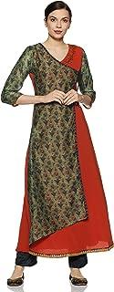 SOCH Women's Georgette a line Salwar Suit Set