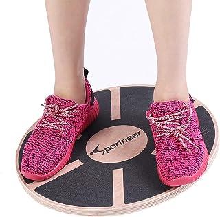comprar comparacion Sportneer - Plataforma de Equilibrio Profesional de Madera para Ejercicio físico … (Negro)