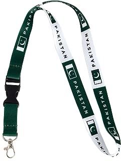 Country of Pakistan Flag Lanyard for Keys Keychain Souvenir Pakistani (Lanyard)