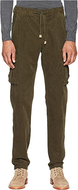 Cord Cargo Jogger Pants