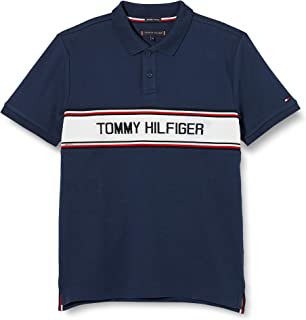 Tommy Hilfiger TH Intarsia Chest Polo S/S Niños