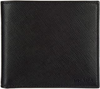 Prada Portaf. Orizzontale Saffiano Cuir Leather Nero Black Wallet 2MO513