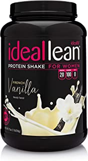 IdealLean - Nutritional Protein Powder for Women | 20g Whey Protein Isolate | Supports Weight Loss | Healthy Low Carb Shak...