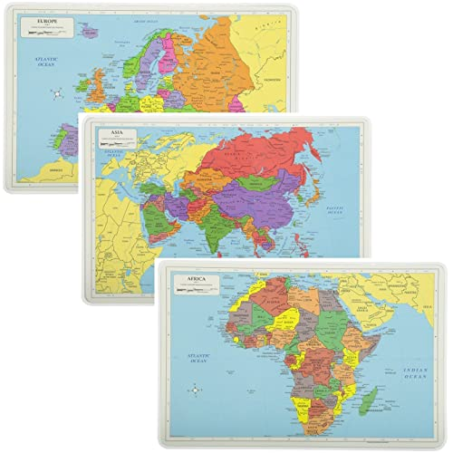 Map Of Europe And Asia Amazon Com