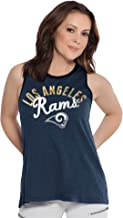 Touch by Alyssa Milano NFL Chicago Bears Women's Homerun T-Back Tank Top, Large, Navy