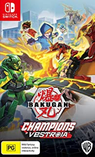 Bakugan: Champions of Vestroia with Exclusive Toy