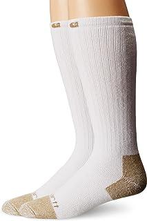 Carhartt Men's 2 Pack Full Cushion Steel-toe Cotton Work Boot Socks
