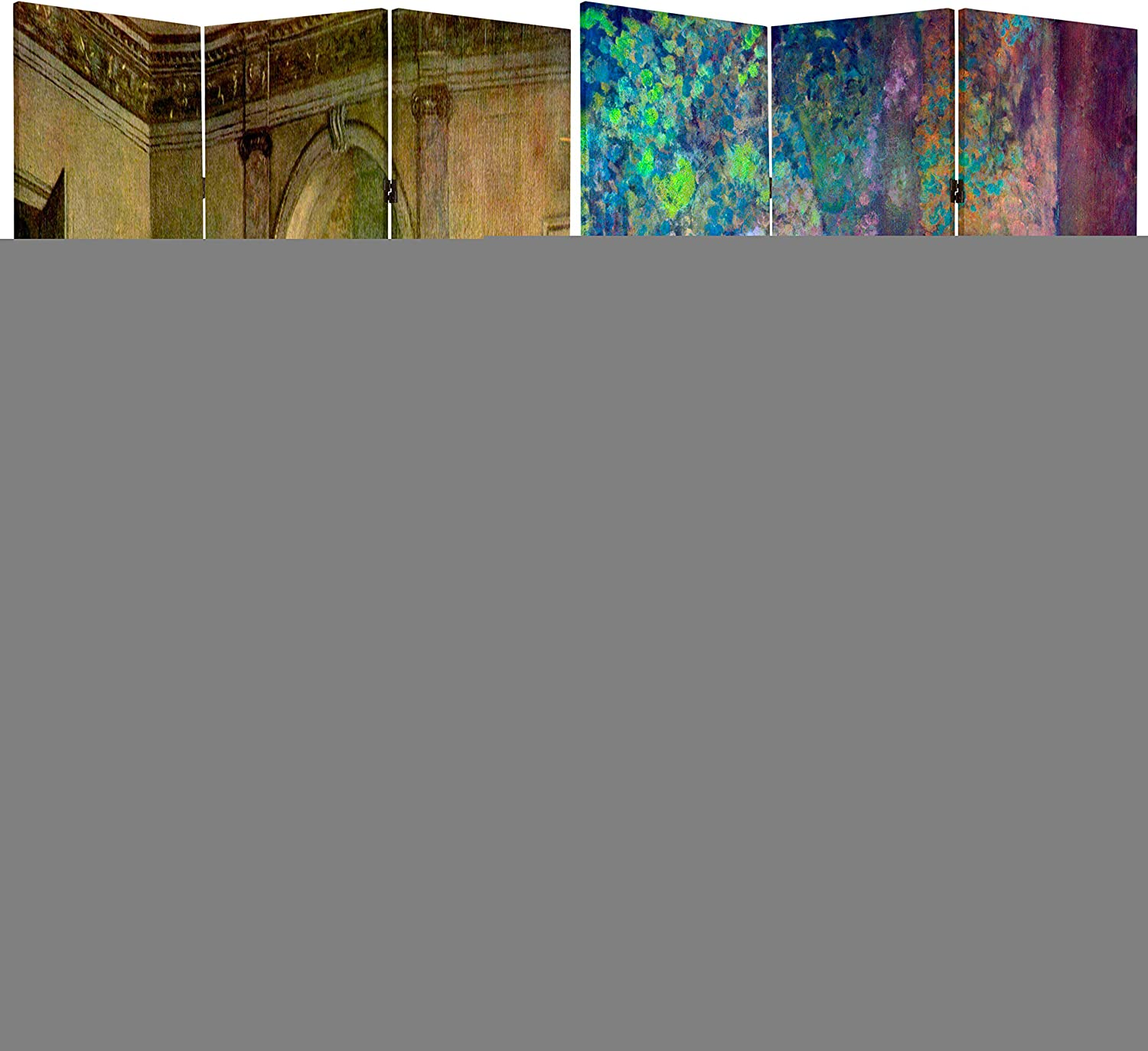Oriental Furniture 6 ft. At the price Tall Double D of Max 63% OFF Room Sided Works Degas