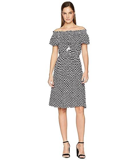 Kate Spade New York Arrow Stripe Rayon Dress