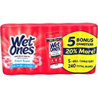 Wet Ones Fresh Scent Anti-Bacterial Wipes