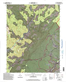 YellowMaps Lead Mine WV topo map, 1:24000 Scale, 7.5 X 7.5 Minute, Historical, 1995, Updated 1998, 27.3 x 21.9 in