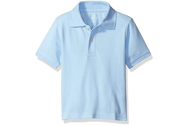 60642b694 The Children's Place Baby Boys' Short Sleeve Uniform Polo