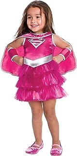 Kids Pink Supergirl Tutu Dress Toddler