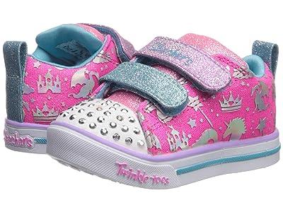 SKECHERS KIDS Sparkle Lite 20274N (Toddler/Little Kid) (Hot Pink/Multi) Girl